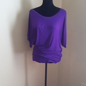 Lock&Love Sexy purple sexy t shirt